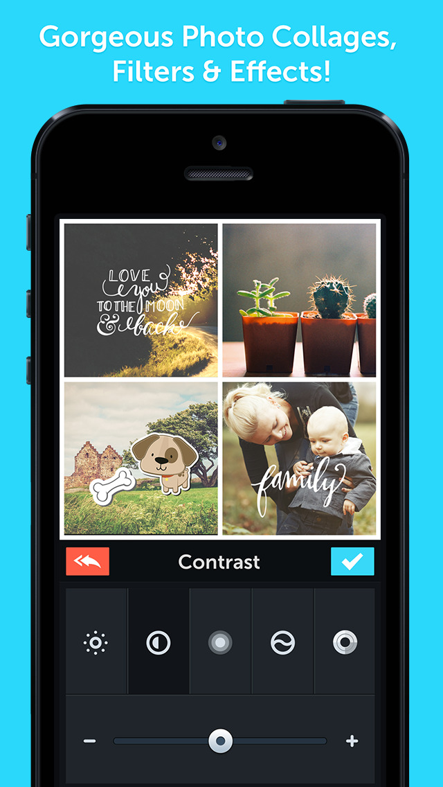 PicLab 3.0 features support for collages, stickers, iOS 8 and iPhone 6