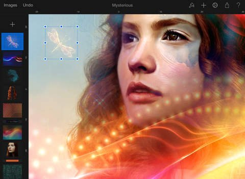 Demoed at Apple's iPad Air 2 and iPad mini 3 event, Pixelmator for iPad is out now