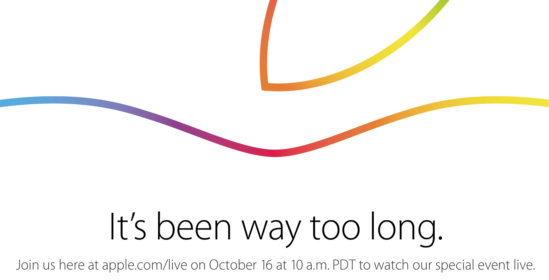 Watch the live stream for Apple's Oct. 16 iPad and Mac event now