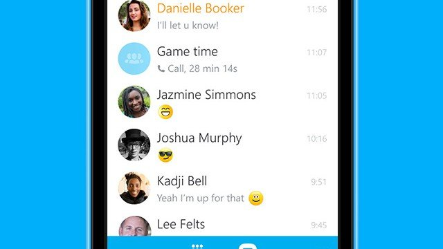 Skype for iPhone updated with photo saving and deletion, faster chat loading and more