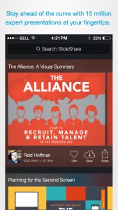 LinkedIn unveils new SlideShare Presentations app for iOS