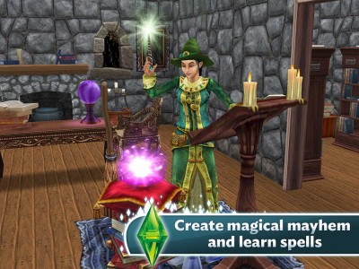 Magical mysteries and mayhem await in The Sims FreePlay's new Halloween edition