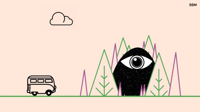 The Trip is a trippy endless running game based on a Vimeo Staff Pick