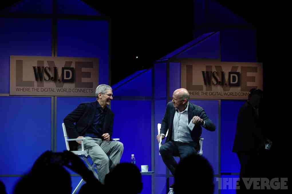 Tim Cook talks Apple Watch, Apple Pay and more at The Wall Street Journal's WSJDLive
