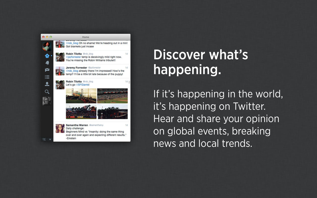 Twitter for Mac updated with multi-photo sharing and photo support in direct messages