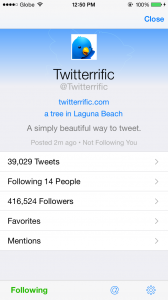 Twitterrific updated with additional iOS 8 improvements, mention search and more
