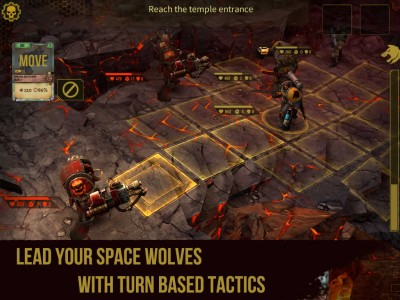 Lead your pack of Space Wolves in this new Warhammer 40,000 game for iOS
