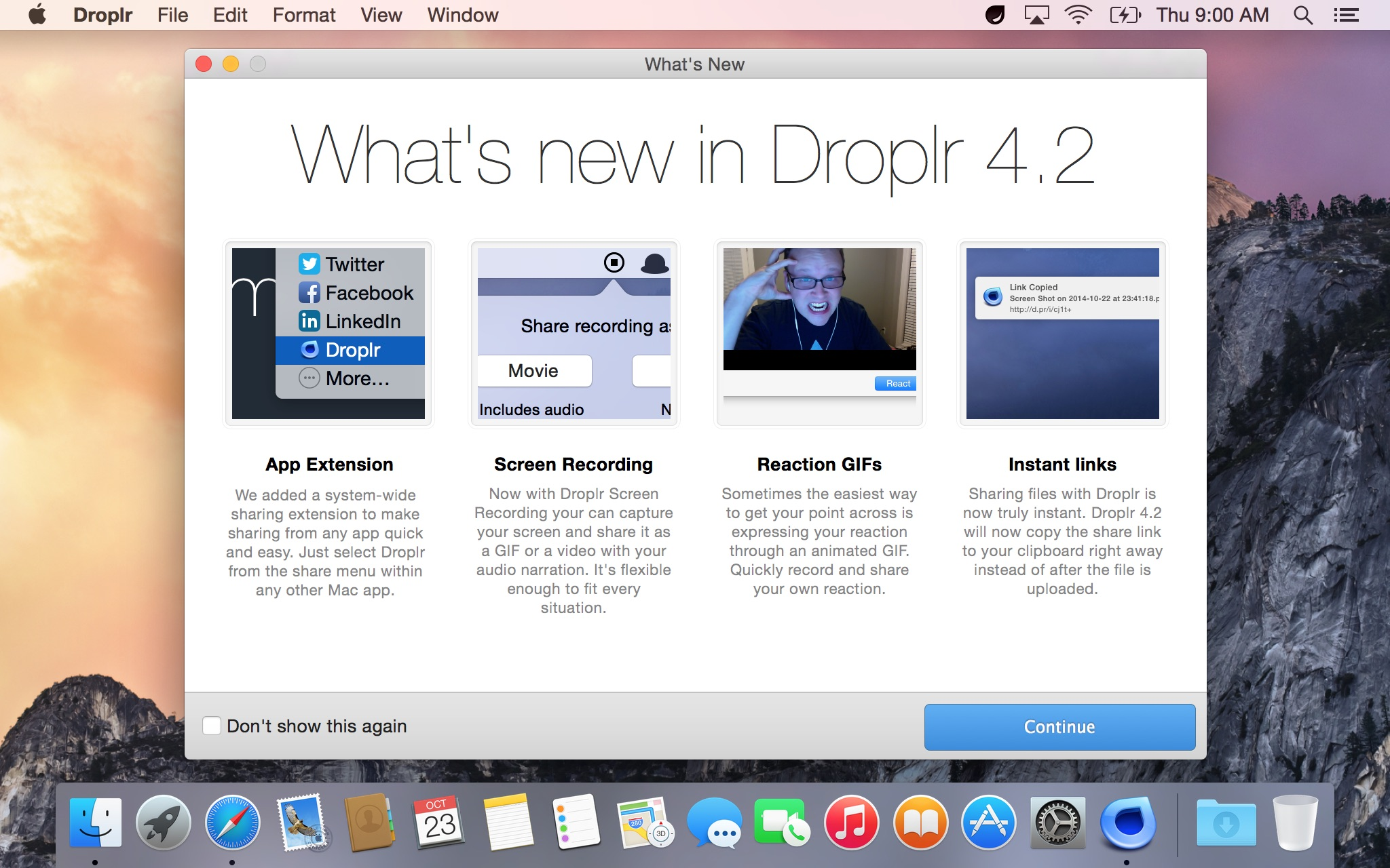 Droplr for Mac updated with new features for OS X Yosemite and other enhancements