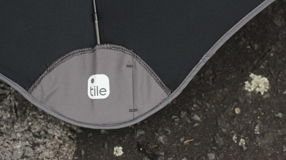 Never get wet again with the Blunt + Tile, the world's first smart umbrella