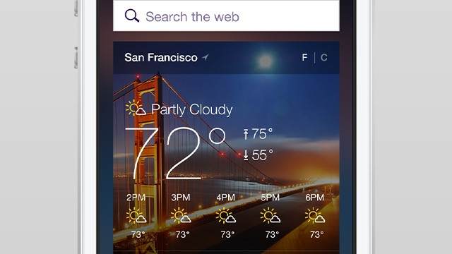 Yahoo Mail for iOS takes on Google Now with new travel and event notifications