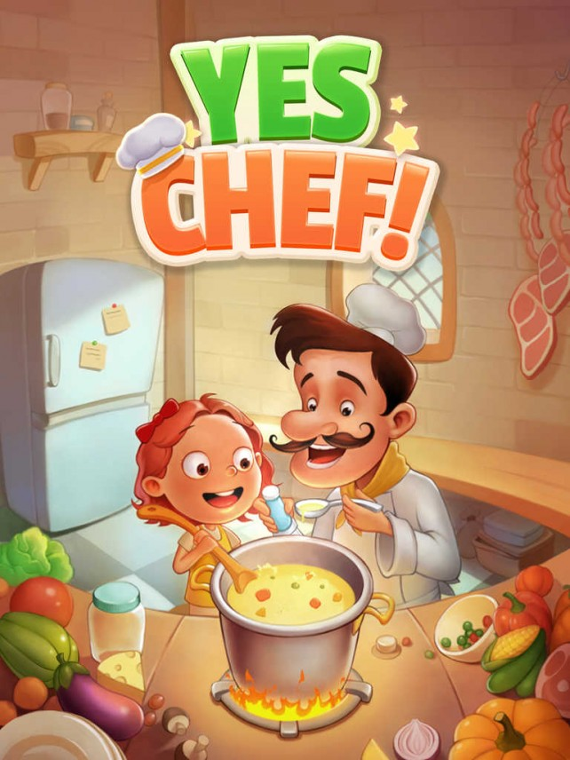 Halfbrick lets you play with your food in the new Yes Chef! match-3 puzzle game