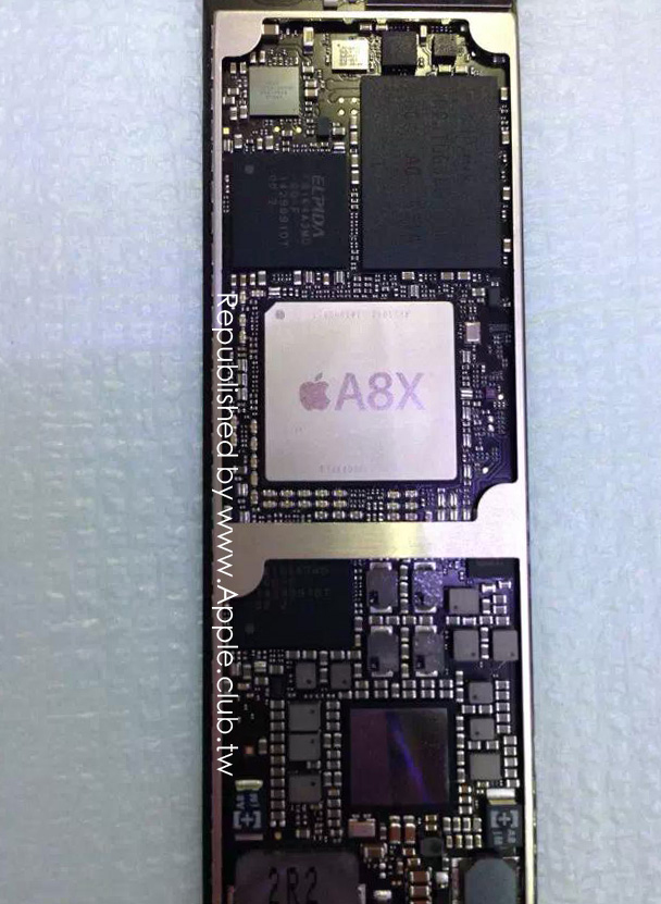 It's likely that the 'iPad Air 2' will sport 2GB of RAM and a more powerful A8X chip