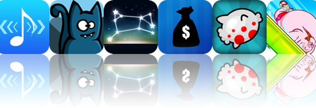 Today's apps gone free: AudioStretch, Bronko Blue, Night Sky 2 and more