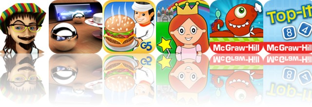 Today's apps gone free: Rolling Zimro, Multiponk, Stand O'Food and more