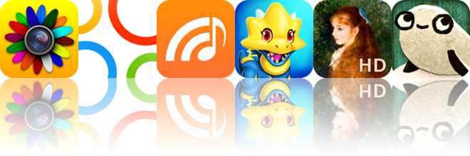Today's apps gone free: FX Photo Studio, Intervals, Music2Go and more