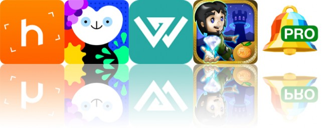 Today's apps gone free: Horizon, Bubl Draw, Word Triangle and more