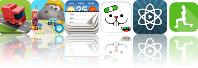 Today's apps gone free: RGB Express, Hoopa City, Calendarium and more