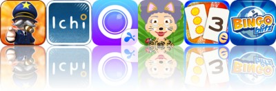 Today's apps gone free: Great Big War Game, Ichi, Splashtop CamCam and more