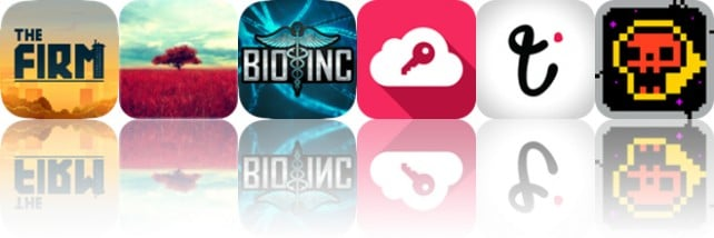 Today's apps gone free: The Firm, Gloomlogue, Bio Inc. and more