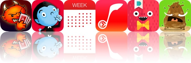 Today's apps gone free: Spite and Malice, Thumbpire, Week Calendar and more