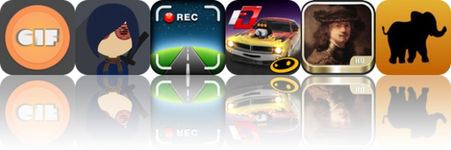 Today's apps gone free: Giflay, Hipsters Save The World, Car Camera DVR and more