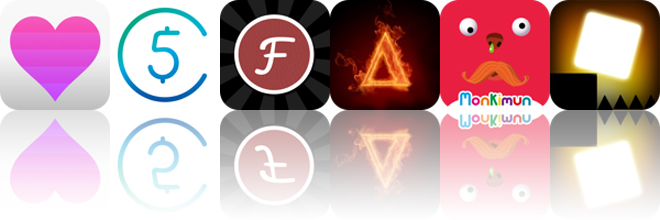 Today's apps gone free: Love Time, 5coins, Fontpress and more