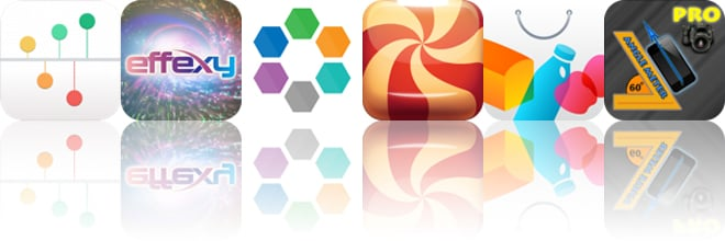 Today's apps gone free: Journeys, Effexy, Hexagonal and more