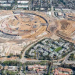 A new aerial shot shows that much progress has been made on Apple Campus 2