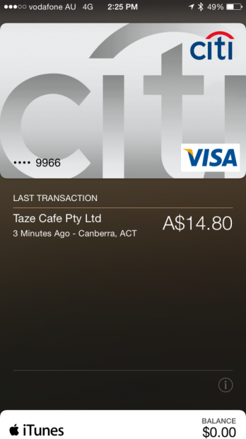 Apple Pay is already working abroad with US-based credit cards