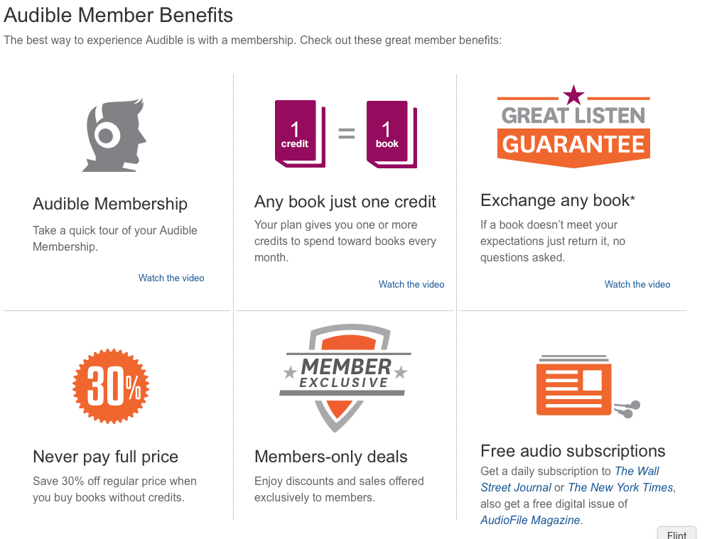 Benefits to membership