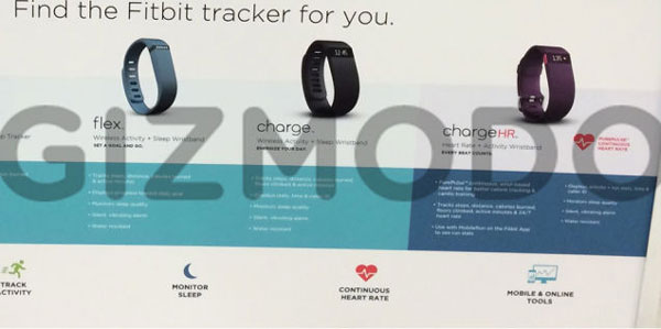 Here's the first look at Fitbit's upcoming Charge and Charge HR fitness trackers