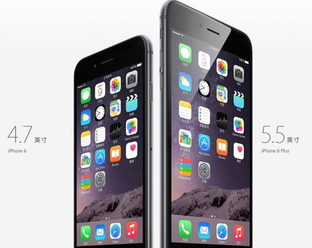 Chinese reservations for the iPhone 6 and iPhone 6 Plus now top 4 million