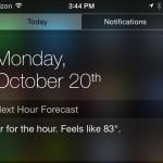 Dark Sky update lands with iPhone 6 optimization and a Notification Center widget