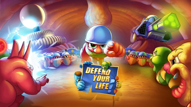 Arriving 2015, Defend Your Life brings the battle of bacteria and more