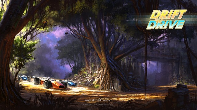 The retro racing action of Drift'n'Drive arrives for iOS on Oct. 30