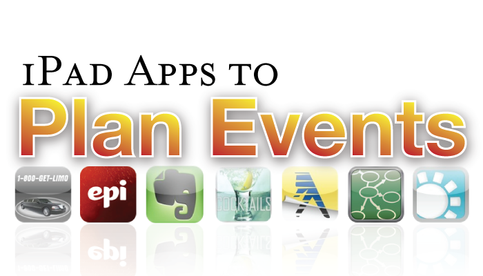 Plan the perfect event or party this holiday season with these iPad apps