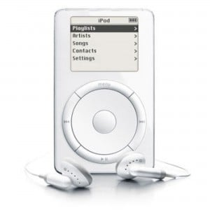 Apple's original iPod debuted 13 years ago