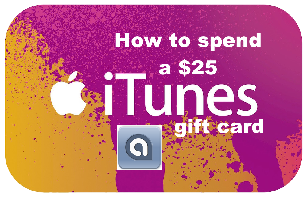How to spend a $25 iTunes gift card for Oct. 24, 2014