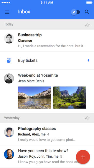 Google looks to reinvent email with its new Inbox app for the iPhone