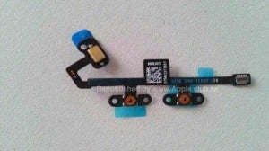 The iPad Air 2's volume control flex cable