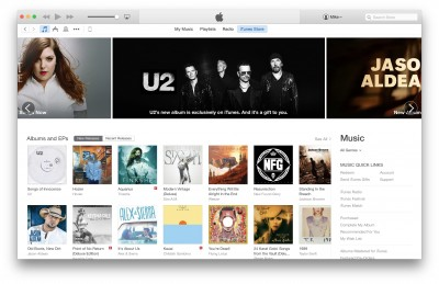 Apple rolls out redesigned iTunes Store in iTunes 12 ahead of OS X Yosemite launch