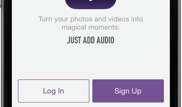 Just Add Audio to make your photos and videos even more special