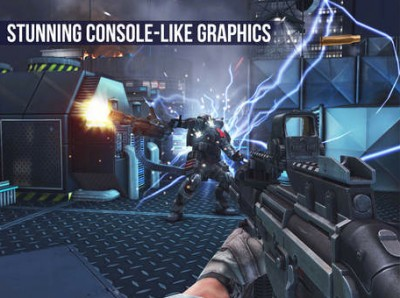 Modern Combat 5: Blackout on sale, now optimized for the iPhone 6 and iPhone 6 Plus