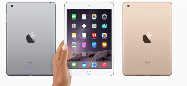 Apple officially unveils the iPad mini 3