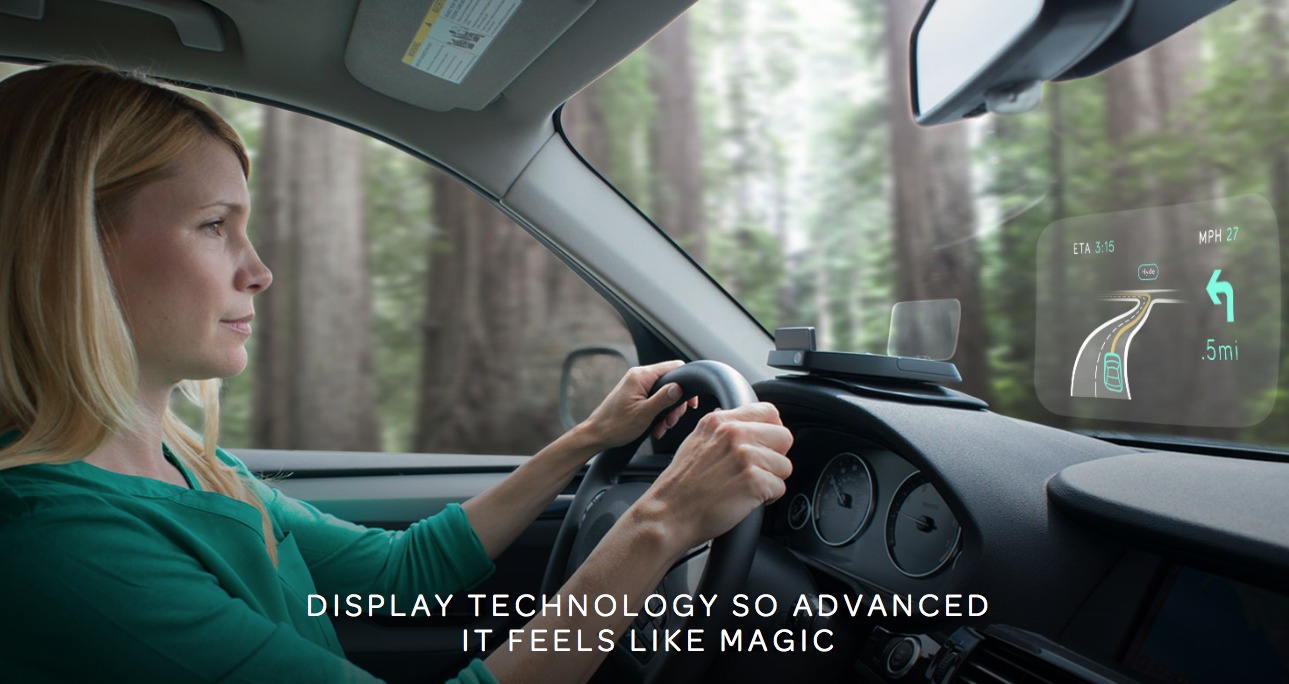 The team behind Navdy, the 'Google Glass for your car' announces a huge milestone