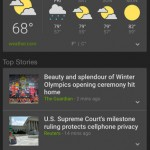 Google News & Weather launches on the App Store