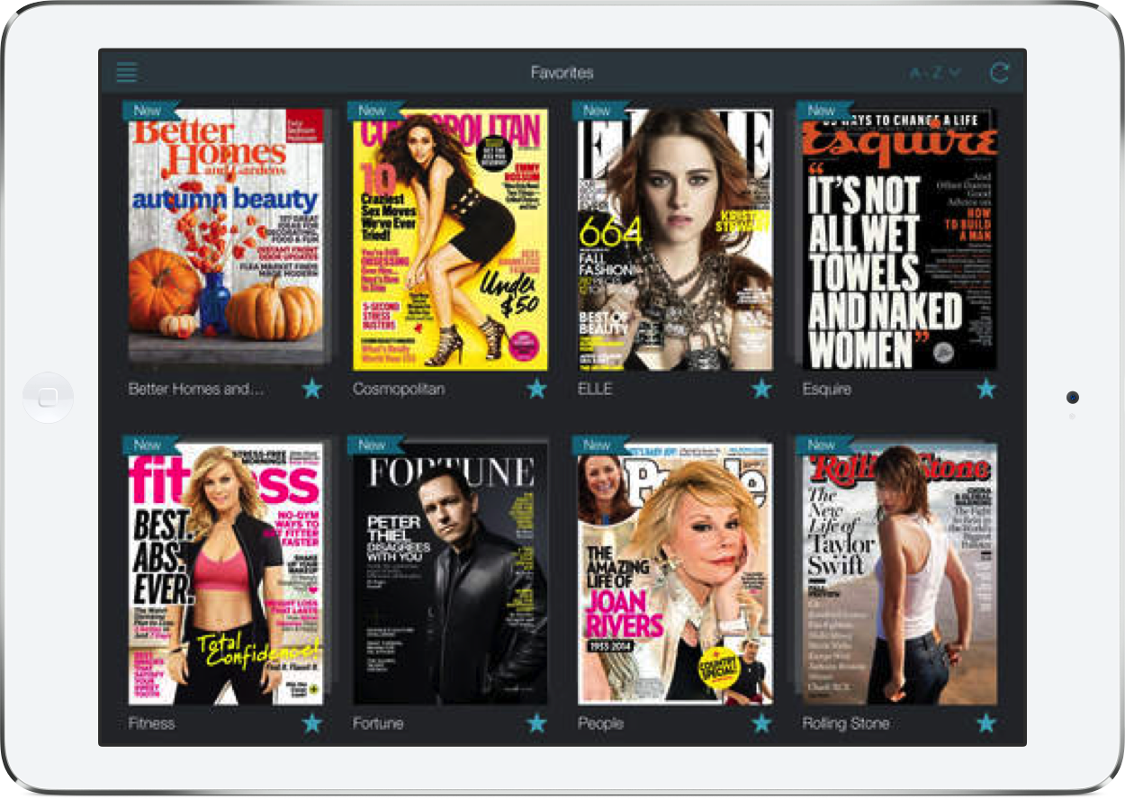Next Issue makes it easier to organize your favorite magazines
