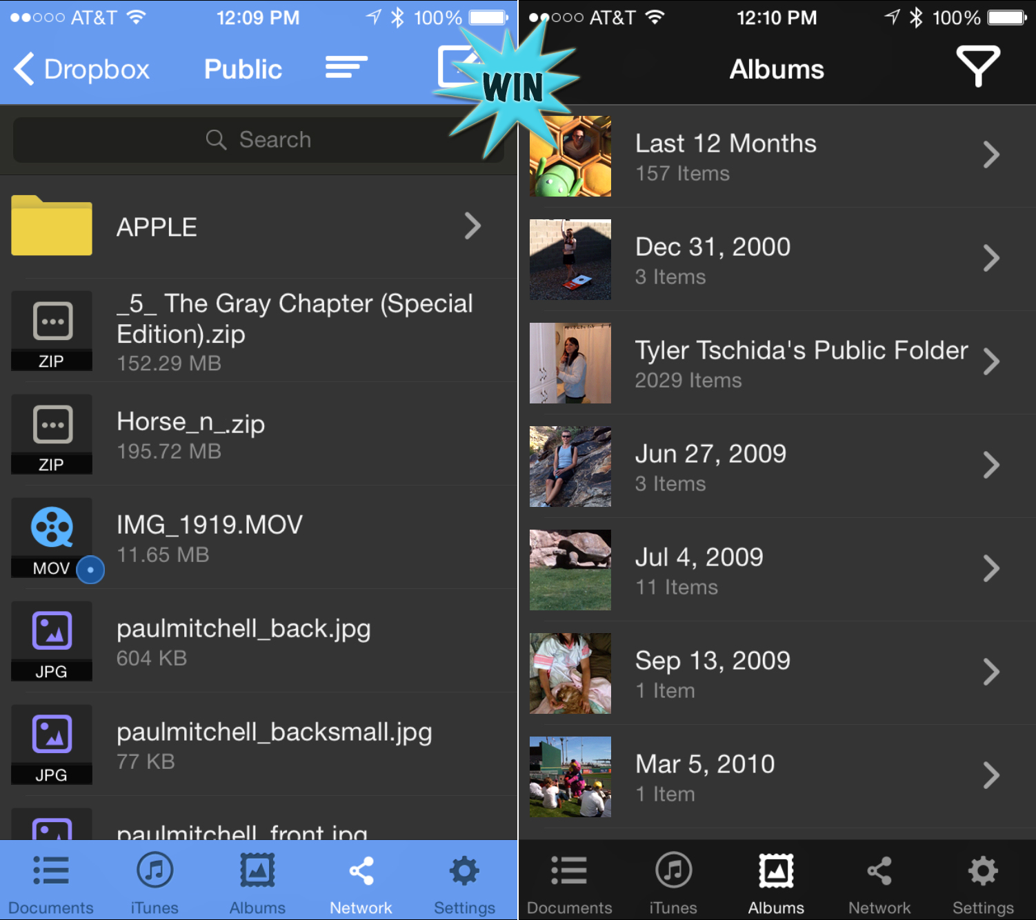 Win nPlayer and play almost any type of video or audio file without converting