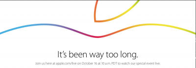 Apple's online store goes offline ahead of 'iPad Air 2' event