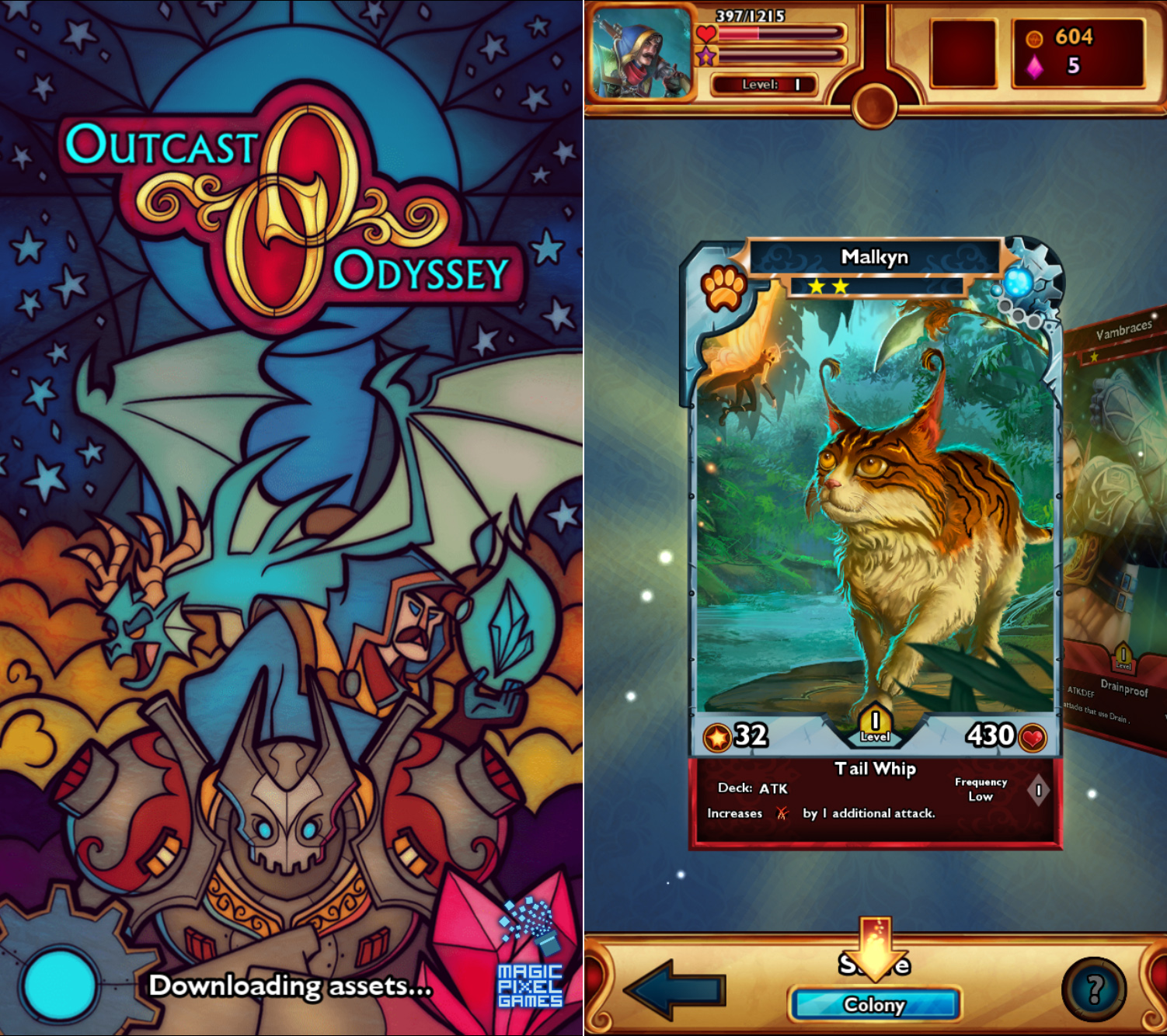 Explore, collect and battle in Outcast Odyssey for a chance to win a $10 iTunes gift card